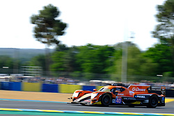 June 16, 2018 - Le Mans, Sarthe, France - G-Drive Racing ORECA 07 Gibson Driver JAMES ALLEN (AUS) in action during the 86th edition of the 24 hours of Le Mans 2nd round of the FIA World Endurance Championship at the Sarthe circuit at Le Mans - France (Credit Image: © Pierre Stevenin via ZUMA Wire)