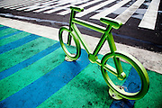 Cycling Street Art at the Zocolo