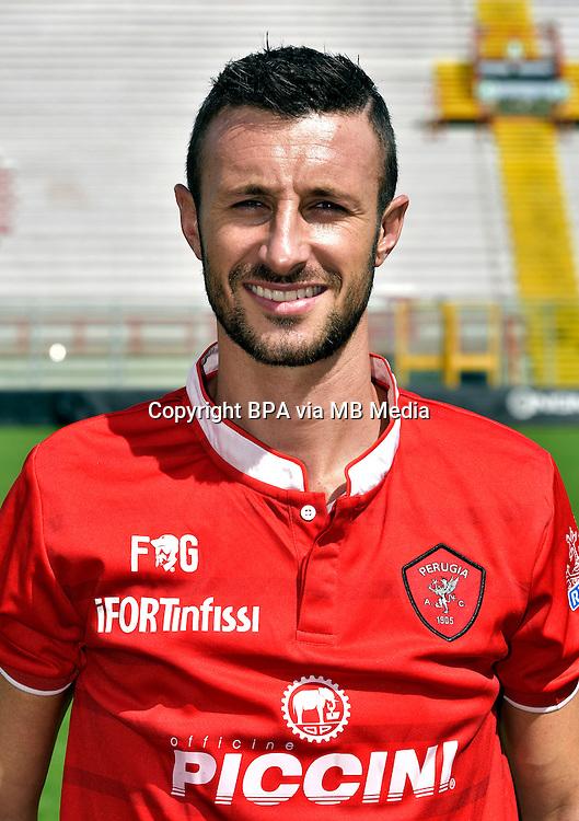 Italian League Serie B_2015-2016 / <br /> ( AC Perugia 1905 ) - <br /> Stefano Guberti