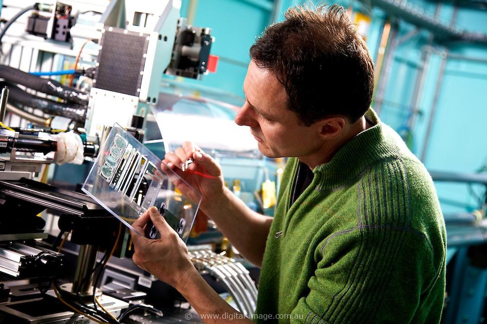 Xray Flourescence Microscopy Beamline, Australian Synchrotron.   Dr Martin de Jong, Scientist - X-ray Fluorescence Microscopy