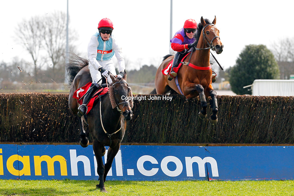 Upton Mead and Mr C P Shoemark winning the 2.20 race