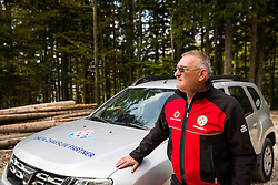 Igor Potocnik, president of GRZS at Valvasorjev dom pod Stolom - Naj planinska koca 2016, on September 24, 2016, Valvasorjev dom pod Stolom, Slovenia. Photo by Ziga Zupan / Sportida