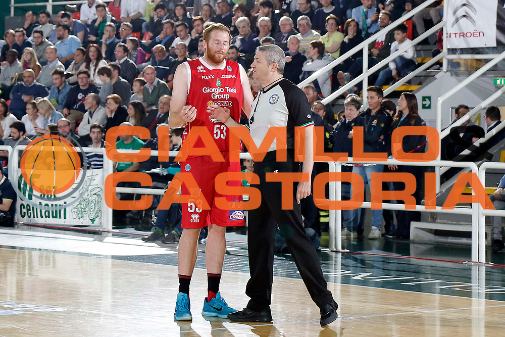 Avellino 24/04/2016 - Basket Lega A Campionato Italiano Pallacanestro 2015-16 quarti di finale play-off gara 2 Sidigas Avellino - Giorgio Tesi Group Pistoia<br /> foto Ciamillo