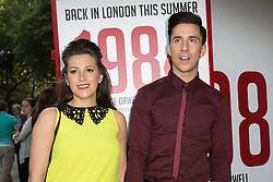 © Licensed to London News Pictures. 18/06/2015. London, UK. Russell Kane arrives at the press night for 1984 at the Playhouse Theatre, Northumberland Avenue in London tonight. Photo credit : Vickie Flores/LNP