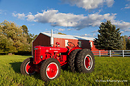 1947 International Harvester I-4 Industrial Tractor restored by Dan Tomrink of Columbia Falls, Montana, USA