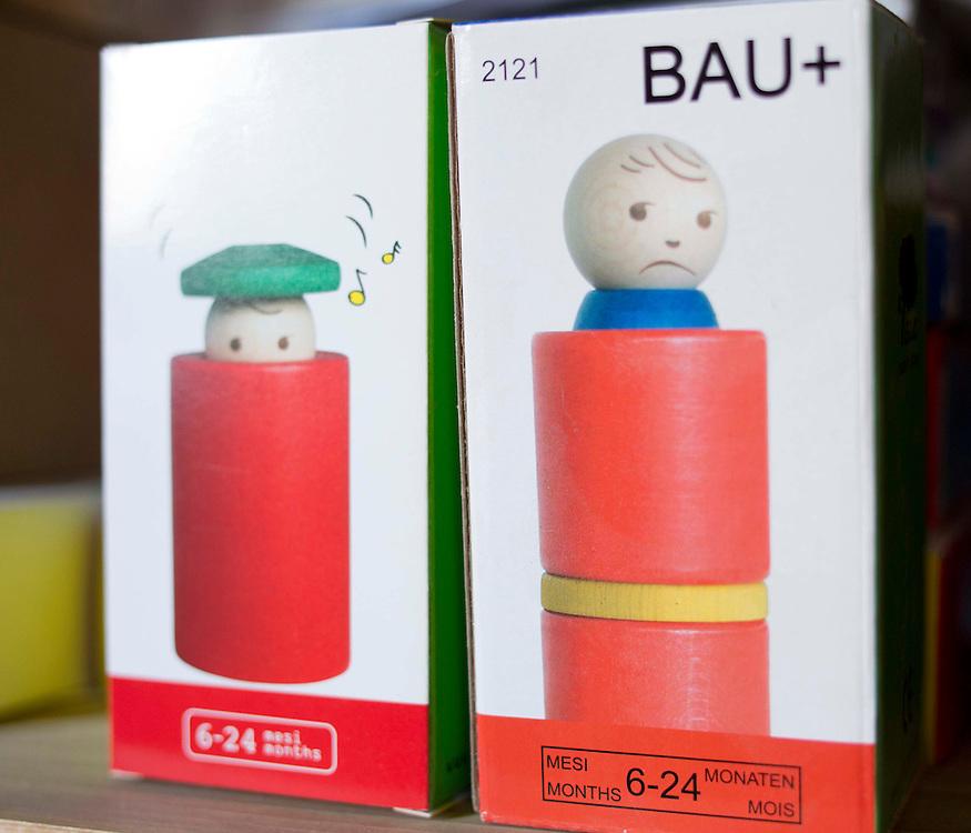 Bau+ pupazzetto ideato e costruito da Vittorio Lonzi<br /> <br /> Bau+ doll designed and built by Vittorio Lonzi