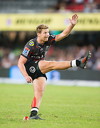 DURBAN, SOUTH AFRICA - APRIL 21: Robert Du Preez  of the Cell C Sharks during the Super Rugby match between Cell C Sharks and DHL Stormers at Jonsson Kings Park on April 21, 2018 in Durban, South Africa. Picture Leon Lestrade/African News Agency/ANA