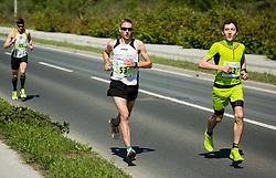 Lamovec Peter, Zarnik Sebastjan and Bregar Gašper during running race Tek trojk et event Pot ob zici 2016, on May 7, 2016, in Ljubljana, Slovenia. Photo by Vid Ponikvar / Sportida
