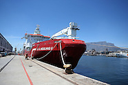 Cape Town - SA Agulhas II Sets Sail For Antarctica - 30 Nov 2016