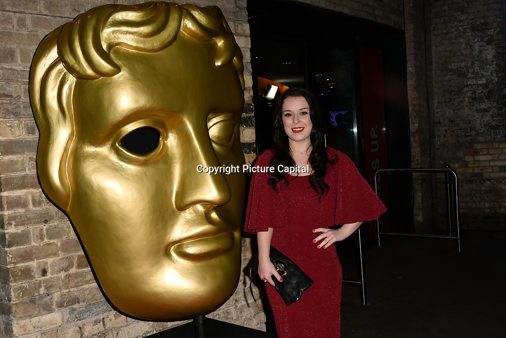 Dani Harmer arrivers at the BAFTA Children's Awards 2018 at Roundhouse on 25 November 2018, London, UK.