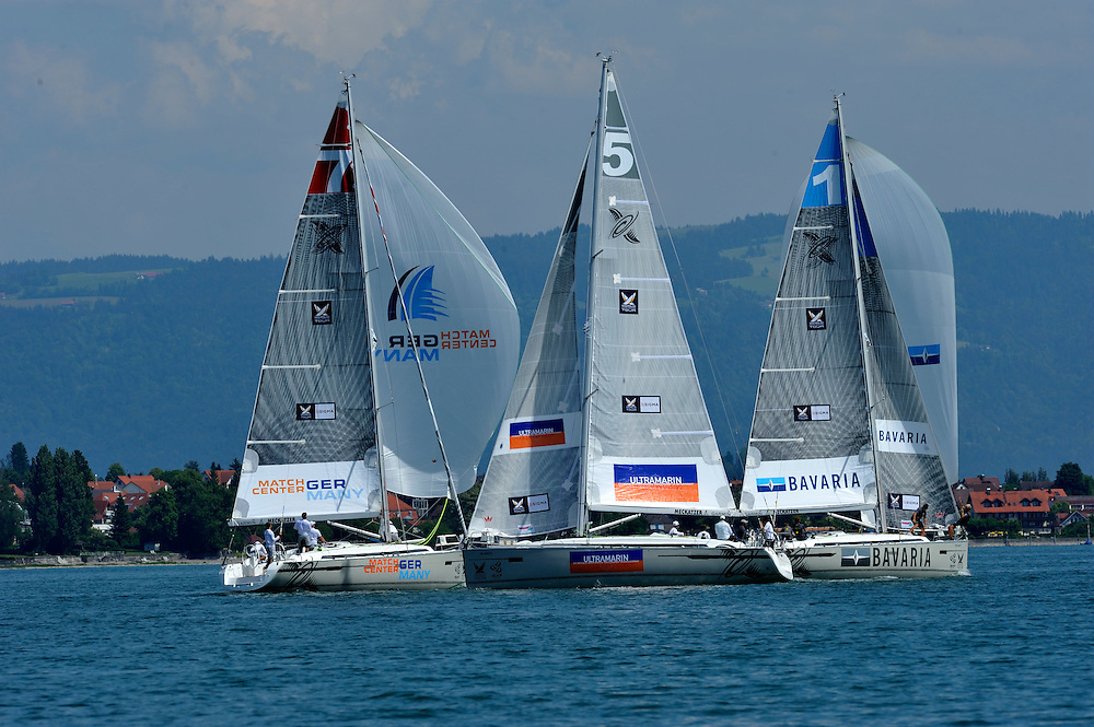 The teams in action during training day. Photo:Chris Davies/WMRT
