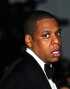 Jay-Z attends the 2009 Victoria's Secret Runway show at the 26th St Armory in New York City on November 19, 2009.