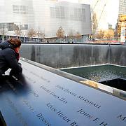 USA/New Yok/20120301 - New York, gedenkmonumet aanslagen 911 op het World Trade Center