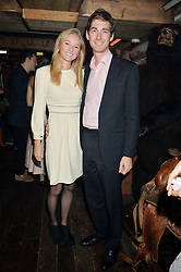 WILLIAM & KATHERINE GAYNER at a party to celebrate the opening of Beaver Lodge, a new bar & club from the Inception Group at 266 Fulham Road, London SW10 on 4th December 2014.