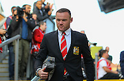 Wayne Rooney of Manchester United before the Barclays Premier League match between Crystal Palace and Manchester United at Selhurst Park, London, England on 31 October 2015. Photo by Phil Duncan.