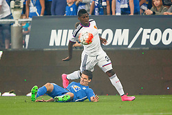 29.07.2015, INEA Stadion, Poznan, POL, UEFA CL, Lech Poznan vs FC Basel, Qualifikation, 3. Runde, Hinspiel, im Bild BREEL EMBOLO, MARCIN KAMINSKI // during the UEFA Champions League Qualifier, third round, first Leg match between Lech Posen and FC Basel at the INEA Stadion in Poznan, Poland on 2015/07/29. EXPA Pictures © 2015, PhotoCredit: EXPA/ Newspix/ Radoslaw Jozwiak<br /> <br /> *****ATTENTION - for AUT, SLO, CRO, SRB, BIH, MAZ, TUR, SUI, SWE only*****