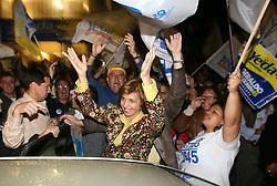 A candidata ao governo do Estado do RS Yeda Crusius durante visita a cidade de Pelotas. FOTO: Jefferson Bernardes/Preview.com
