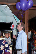 GEORGE SMITH ( RIGHT) , Pimlico Road party. 22 June 2010. -DO NOT ARCHIVE-© Copyright Photograph by Dafydd Jones. 248 Clapham Rd. London SW9 0PZ. Tel 0207 820 0771. www.dafjones.com.
