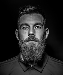 CARDIFF, WALES - Tuesday, September 4, 2018: Wales' Joe Ledley poses for a portrait at the Vale Resort ahead of the UEFA Nations League Group Stage League B Group 4 match between Wales and Republic of Ireland. (Pic by David Rawcliffe/Propaganda)