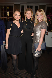 Left to right, Francesca Dutton, Hofit Golan and Camilla Kerslake at the Debrett's 500 Party recognising Britain's 500 most influential people, held at BAFTA, 195 Piccadilly, London England. 23 January 2017.<br /> No UK magazines - contact www.silverhubmedia.com