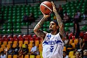 David Moss<br /> Germani Basket Brescia - Vanoli Cremona<br /> Basket Precampionato Serie A LBA 2019/2020<br /> Desio 15 September 2019<br /> Foto Mattia Ozbot / Ciamillo-Castoria