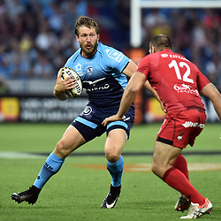 Francois Steyn of Montpellier during the Top 14 semi final match between Montpellier Herault Rugby and Lyon on May 25, 2018 in Lyon, France. (Photo by Alexandre Dimou/Icon Sport)
