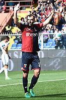 esultanza gol Goran Pandev goal celebration<br /> Genova 07/05/2017 Stadio Luigi Ferraris - campionato di calcio serie A / Genoa-Inter / foto Image Sport/Insidefoto