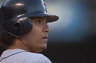 Image &copy; 2005 David Richard<br />Cleveland Indians catcher Victor Martinez