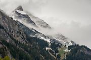 Grindelwald, Wetterhorn, UNESCO Welterbestätte Schweizer Alpen Jungfrau-Aletsch, Kanton Bern, Berner Oberland, Schweiz | Grindelwald, Wetterhorn, UNESCO World Heritage Site Swiss Alps Jungfrau-Aletsch, canton Bern, Bernese Oberland, Switzerland