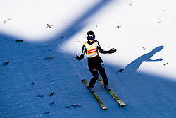 March 10, 2019 - Oslo, NORWAY - 190310 Maren Lundby of Norway looks dejected in women's ski jumping individual competition during the FIS Raw Air World Cup on March 10, 2019 in Oslo..Photo: Jon Olav Nesvold / BILDBYRÃ…N / kod JE / 160423 (Credit Image: © Jon Olav Nesvold/Bildbyran via ZUMA Press)