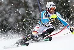 DOPFER Fritz of Germany during the 1st Run of Men's Slalom - Pokal Vitranc 2013 of FIS Alpine Ski World Cup 2012/2013, on March 10, 2013 in Vitranc, Kranjska Gora, Slovenia.  (Photo By Vid Ponikvar / Sportida.com)