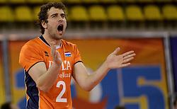 01-06-2014 NED: WLV Nederland - Zuid Korea, Eindhoven <br /> Yannick van Harskamp