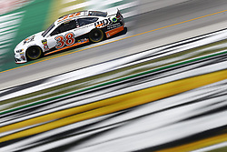 July 13, 2018 - Sparta, Kentucky, United States of America - David Ragan (38) brings his race car down the front stretch during practice for the Quaker State 400 at Kentucky Speedway in Sparta, Kentucky. (Credit Image: © Chris Owens Asp Inc/ASP via ZUMA Wire)