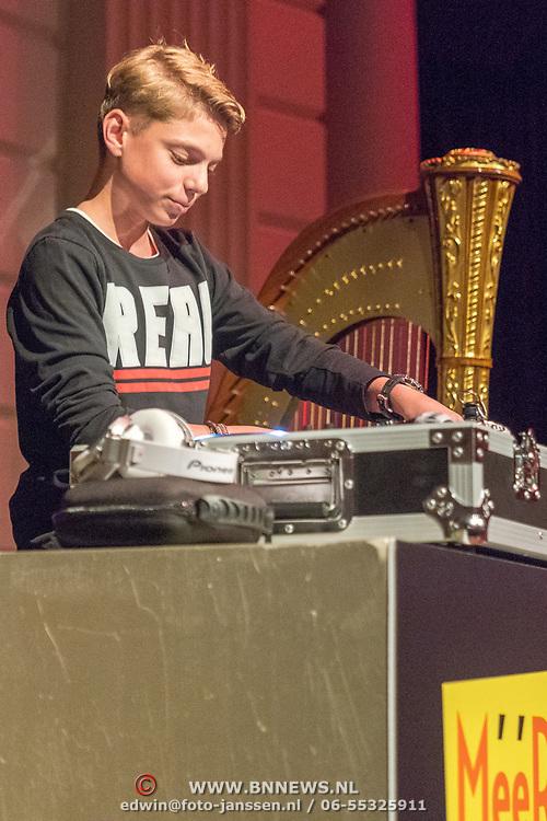 NLD/Amingtonesterdam/20180620 - Uitreiking Award Beste Ringtone, DJ Pieter Gabriel, jongste dj van Nederland