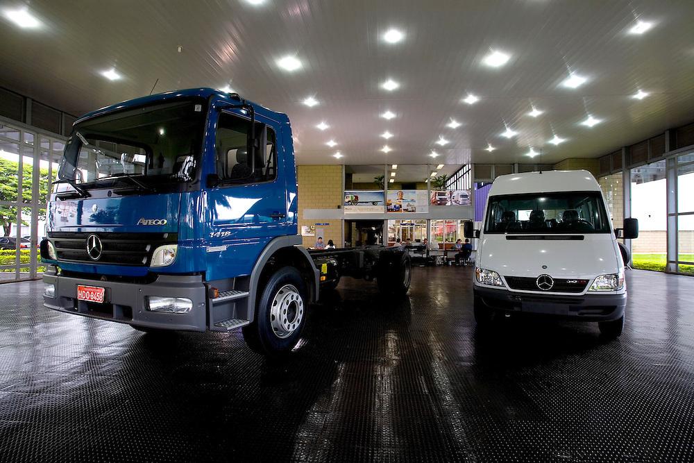 Uberlandia_MG, Brasil...Unidade Uberlandia Caminhoes e Onibus , Minas Gerais...The unit in Uberlandia of trucks and bus, Minas Gerais...Foto: LEO DRUMOND / NITRO