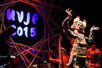 Gusto Brahmanta Trio performing at Ubud Village Jazz Festival, 7/8/2015.