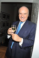 A reception in honour of David Linley to recognise his ambassadorial role for Ruinart Champagne held at Linley, Pimlico Road, London on 24th October 2012.<br /> Picture shows:-NICHOLAS COLERIDGE.