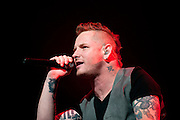 Stone Sour performing on the Avalanche Tour at the Allen County War Memorial Auditorium in Fort Wayne, IN on March 29, 2011
