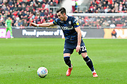 Jack Harrison (22) of Leeds United during the EFL Sky Bet Championship match between Bristol City and Leeds United at Ashton Gate, Bristol, England on 9 March 2019.