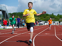 Participants take part in track events at the Bristol Sport Youth Festival - Photo mandatory by-line: Dougie Allward/JMP - Mobile: 07966 386802 - 06/06/2015 - SPORT - Multi-Sport - Bristol - SGS Wise Campus - Bristol Sport Festival Of Youth Sport - Festival Of Youth