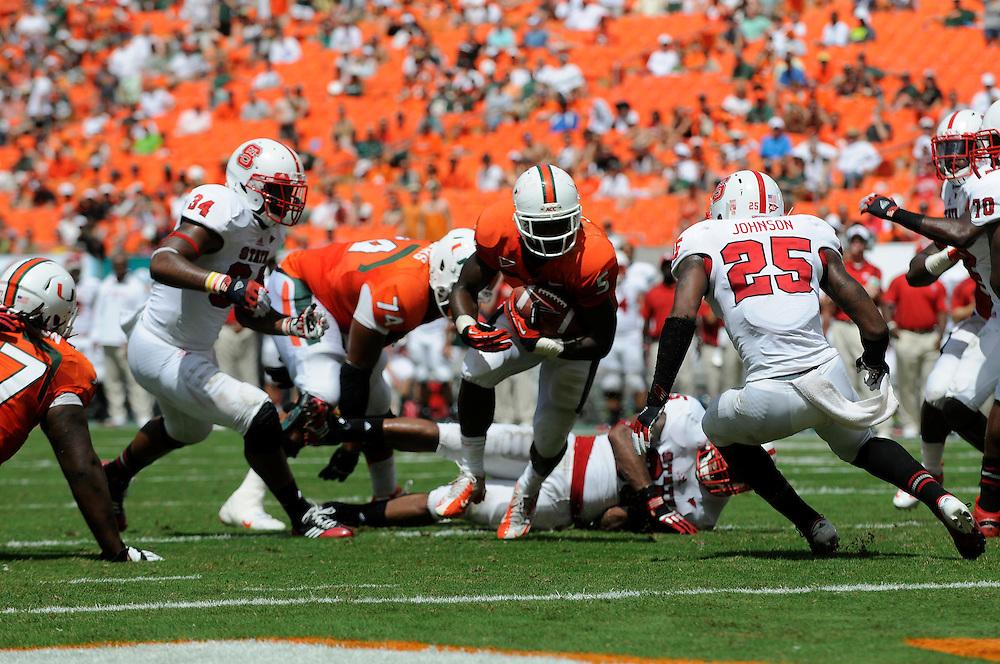 2012 Miami Hurricanes Football vs North Carolina State