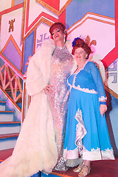 © Licensed to London News Pictures. 13/12/2011. Dartford, Kent. Snow White and the Seven Dwarfs Panto opens at the Orchard Theatre in Dartford starring Craig Revel Horwood as Queen Lucretia and Ann Widdecombe as Widdy-in-Waiting. Photo credit: Bettina Strenske/LNP