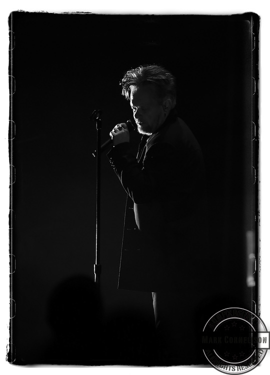 John Mellencamp performs during the PLAIN SPOKEN TOUR  2015 in Louisville, Ky. Photo by Mark Cornelison