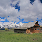 Mormon Row Barn - Grand Tetons, WY