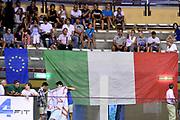 DESCRIZIONE : Trieste Nazionale Italia Uomini Torneo internazionale Italia Serbia Italy Serbia<br /> GIOCATORE : Tifosi<br /> CATEGORIA : Tifosi<br /> SQUADRA : Italia Italy<br /> EVENTO : Torneo Internazionale Trieste<br /> GARA : Italia Serbia Italy Serbia<br /> DATA : 05/08/2014<br /> SPORT : Pallacanestro<br /> AUTORE : Agenzia Ciamillo-Castoria/GiulioCiamillo<br /> Galleria : FIP Nazionali 2014<br /> Fotonotizia : Trieste Nazionale Italia Uomini Torneo internazionale Italia Serbia Italy Serbia