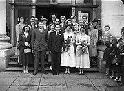 17/06/1952<br /> 06/17/1962<br /> 17 June 1962<br /> Breheny Wedding 33 Richmond Hill, Rathmines Church and reception at Gresham Hotel, Dublin.