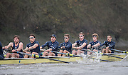 London, Great Britain, Oxford, Pleasure.  during the  BNY Mellon, 2016 University Men's Boat Race, Putney to Mortlake. ENGLAND. <br /> <br /> Sunday 13.12.2015<br /> <br /> [Mandatory Credit; Peter Spurrier/Intersport-images]