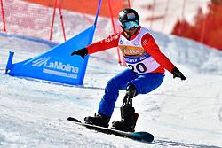 ECKHART Rene, SB-LL1, AUT, Snowboard Cross at the WPSB_2019 Para Snowboard World Cup, La Molina, Spain