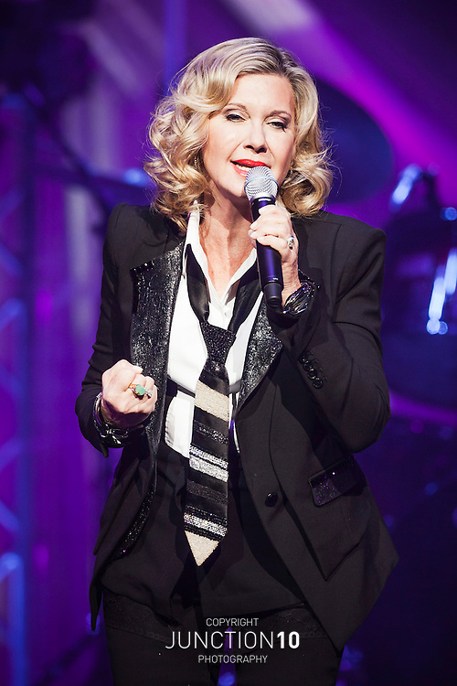 Olivia Newton John in concert at the NIA, Birmingham, United Kingdom.Picture Date: 15 March, 2013
