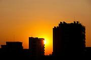 Sao Paulo_SP, Brasil...Por do sol em Sao Paulo...The sunset in Sao Paulo...Foto: BRUNO MAGALHAES / NITRO